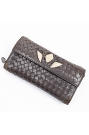 Pre-owned Continental Long Wallet