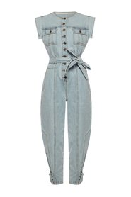 Adair denim jumpsuit