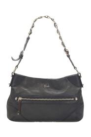 Capri Ranch Kid Leather Shoulder Bag