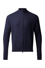 Navy Clipper Cardigan
