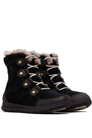 Sorel Women Explorer Joan Dark Stone Black