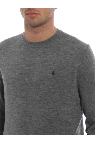 Polo Ralph Lauren Gray Sweatshirt Hoodies & Sweatvesten - Grijs