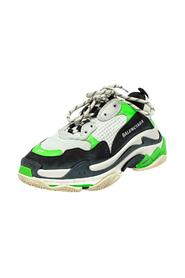 Brukte Mesh And Leather Triple S Low Top joggesko