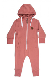 Dyp rosa Gullkorn design, Vennen fleece heldress