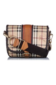 Haymarket Check Canvas Crossbody Bag