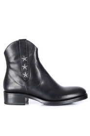 Sort Free Lance Mansory West Zip  Boot Star ankelstøvel