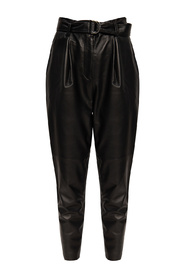 Lana leather trousers