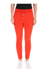 jogging trousers with icon logo