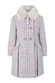 Dogtooth Coat Outerwear