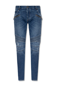 Jeans with multiple pockets