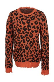 AW19 Leopard Crewneck Sweater