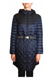 Midi down jacket in goose down