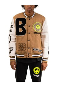 College jacket con patch