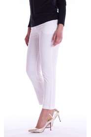 LUCKYLU TROUSERS IN SATIN