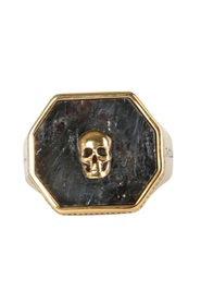 RING WITH SKULL SEAL