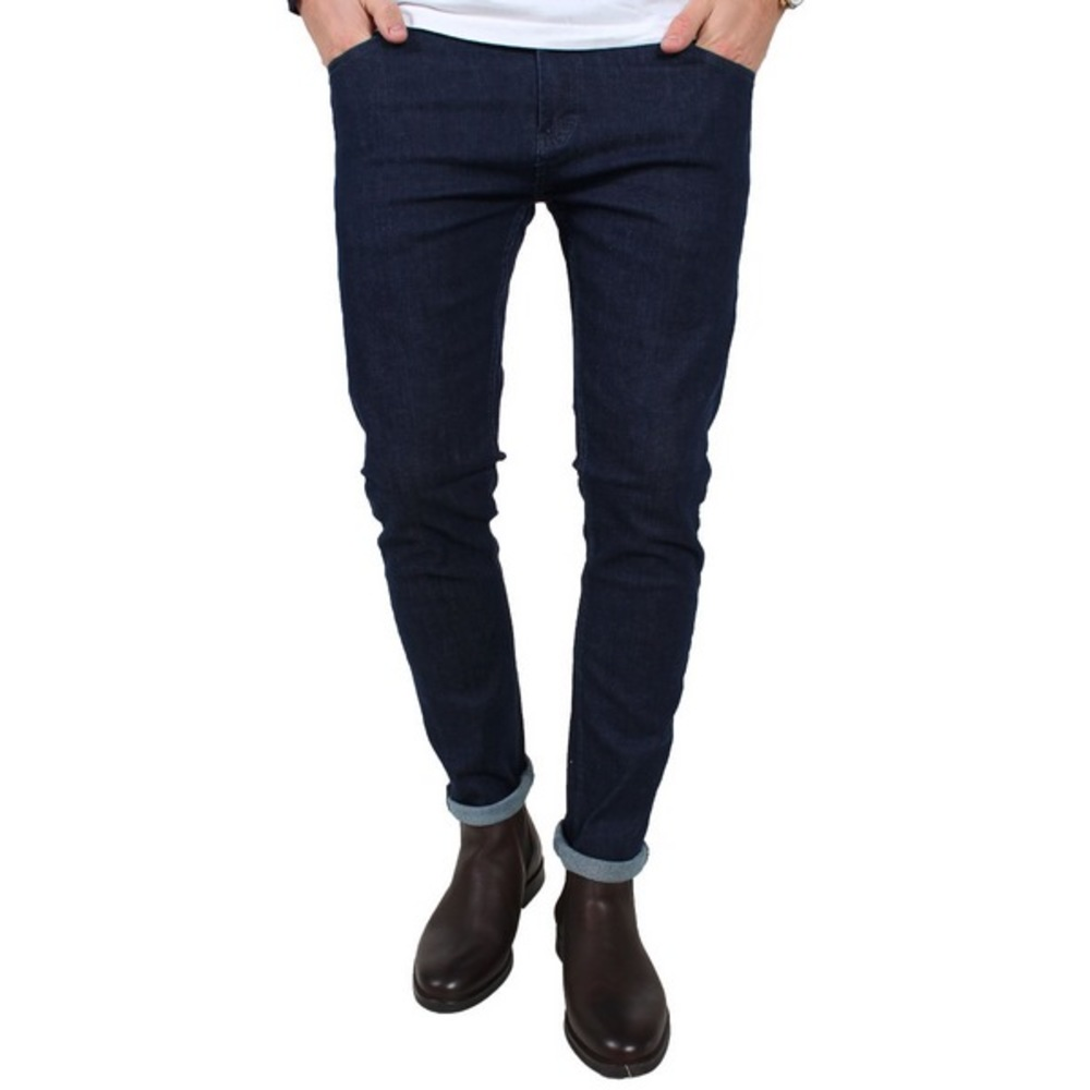 Denim Project Red Jeans Raw Blue