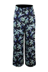Patterned Floral Trousers