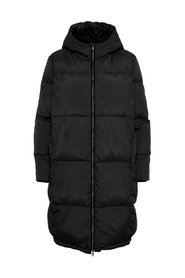 Puffer coat Quilted hooded