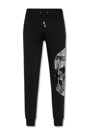 Jogging Trousers Skull Strass