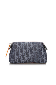 Dior Oblique Flight Denim Pouch