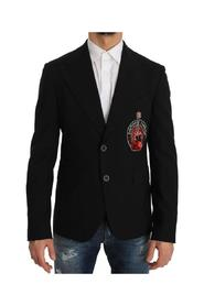 Wool Beaded Applique Jacket