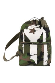Camouflage Canvas Backpack