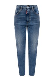 'Tight Cropped Jean' jeans