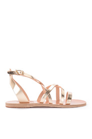 Delia leather thong sandal