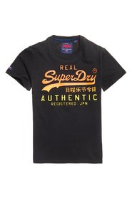 Superdry Vintage Logo Authentic Fade Tee