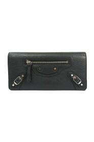 Brukt Classic 163471 Leather Long Wallet (to ganger)