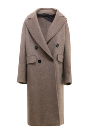 Double Breasted Cashmere Coat