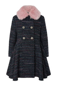 Tweed Coat Outerwear
