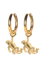 Earrings monkey