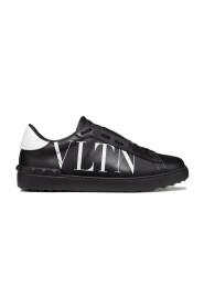 'Open' Sneaker med VLTN-logotyp