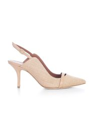 MARION PUMPS RAFFIA AND NAPPA