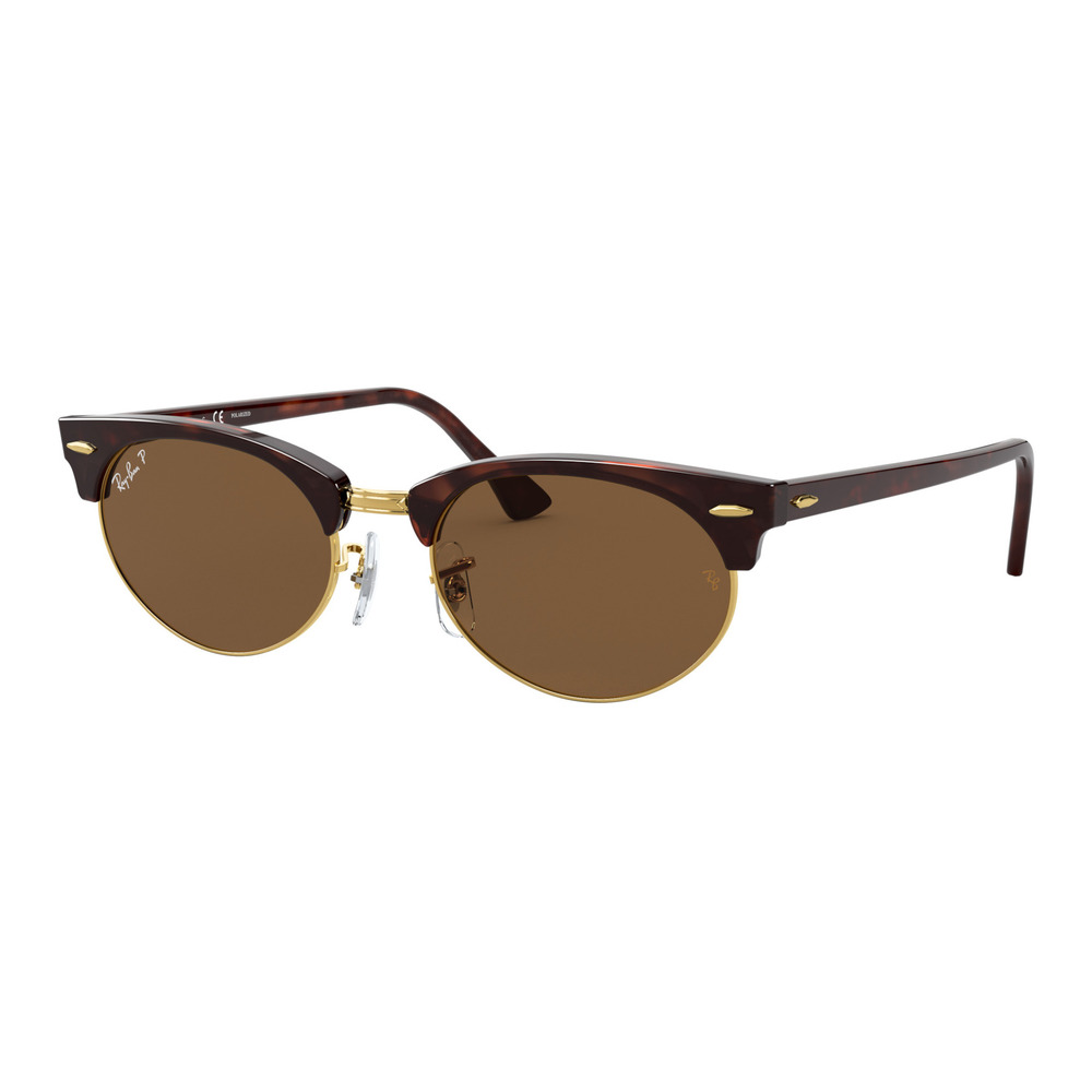 Ray-Ban RB3946 CLUBMASTER OVAL Polariseret