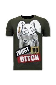 Luxury T shirt - Trust No Bitch