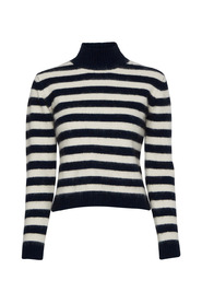 Yilan Striped Knitted Sweater
