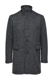 Mønster Selected Homme Mosto Wool Coat Jakke