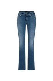 Blå Cambio Parla Flare 9182 Jeans