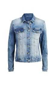 Jacket bright denim