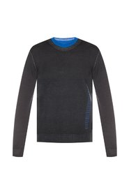 Woolen sweater with logo