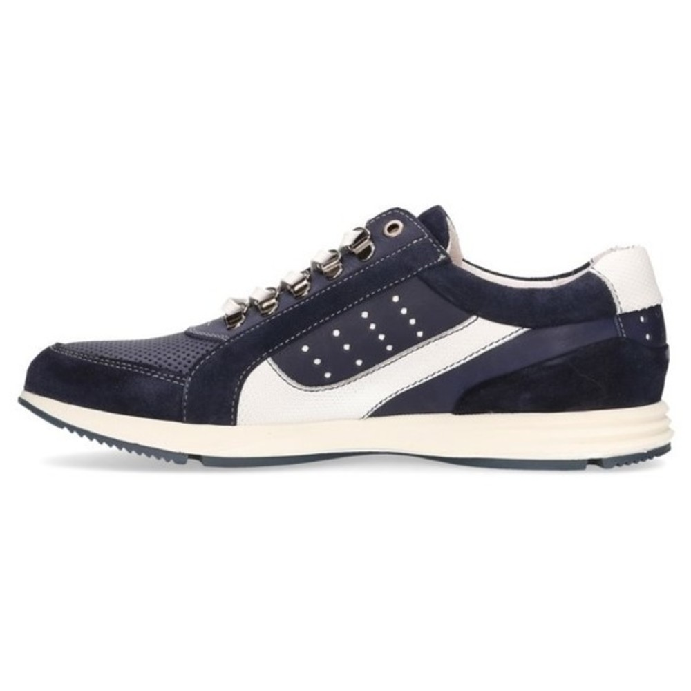77  Gregory Leather S04 Blue White Sneaker Veterschoen | Australian | Laarzen | Herenschoenen