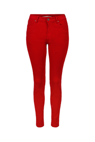 Zip trouser coloured Haust Collection