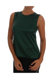 Silk Stretch Tank Top