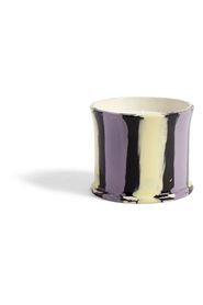 Stripe Scented Candle Fig Leaf Beauty
