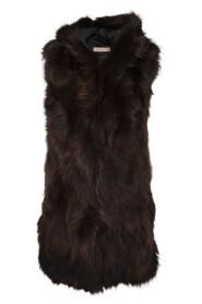 Raccon vest with hood