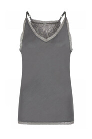 Maxima Strap Top With Lace Skjorter 42601/7389