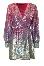 ACTUAL AND MINI SEQUIN DRESS