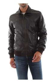 BOMBOOGIE JMCHEL P SVM JACKET AND JACKETS Men DARK BROWN
